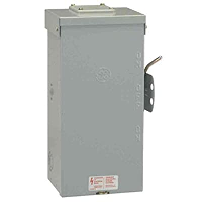 GE Energy Industrial Solutions TC10323R GE Outdoor Double Pole Double Throw Safety Switch, 100-Amp