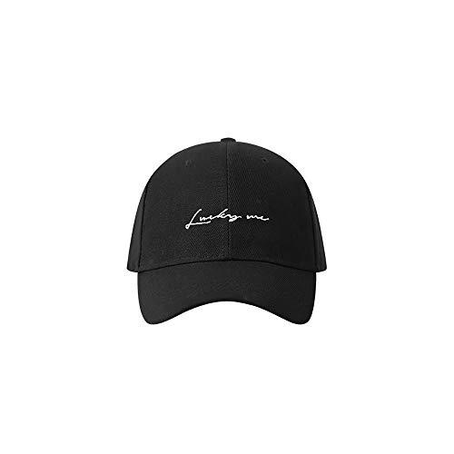ZZYJYALG Sombreros para hombres Bordado de cinta 100% algodón gorra de béisbol sol sol verano deportes al aire libre gorra papá sombrero con sombrero de plomo con correa larga gorro ajustable |Fitness