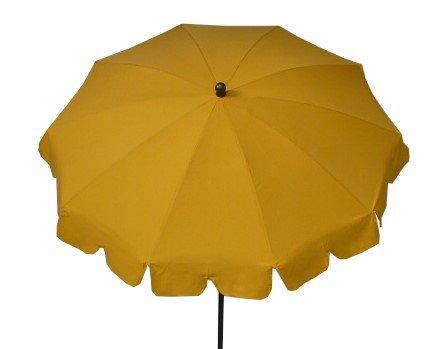 Maffei Art 84 Allegro, Parasol Rond diamètre cm 200, Tissu Dralon, Made in Italy. EXCLUSIVITE Couleur Jaune