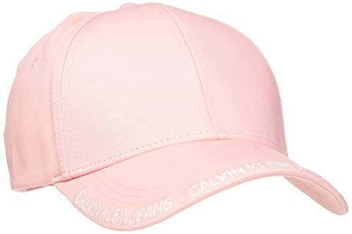 Calvin Klein Ckj Visor Logo Cap W Gorra de béisbol, Rosa (Pale Peony Tcq), One Size para Mujer