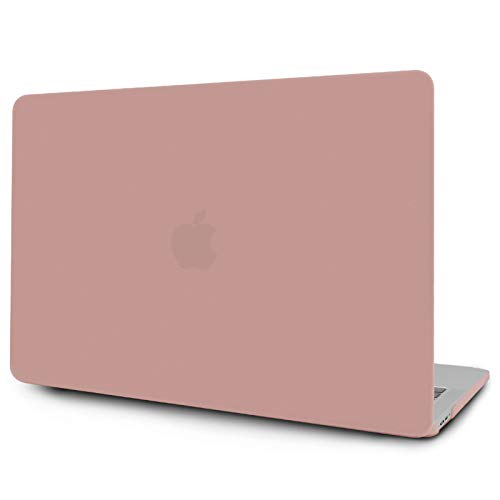 OneGET Macbook Air 13 Inch Case 2018 Laptop Case Macbook Air13 Release A1932 with Retina Display Computer Case Macbook Air13 Hard Shell PP Macbook Air 13 Case with Touch ID (Pink)