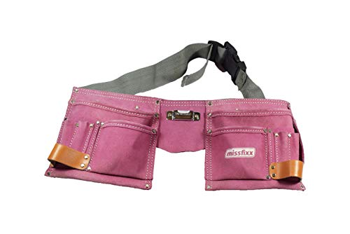 missfixx Werkzeuggürtel aus Leder pink
