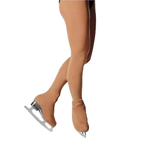 Wilk Outdoor-Anti-Kälte-Produkte der Kinder Frauen Eislauf-Hose Eiskunstlauf Hosen thermischer Langer Strumpfhosen Schlittschuh mit Schuhen Abdeckung