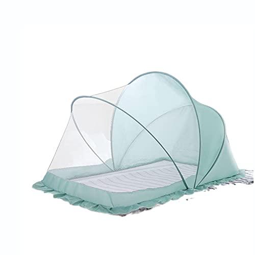 CHENNA Cuna Plegable de la Cama Pop-up up-up, al Aire Libre portátil bebé Mosquito Neto Tiendas de Tiendas de Fondo sin Fondo (Size : 115x60x65cm)