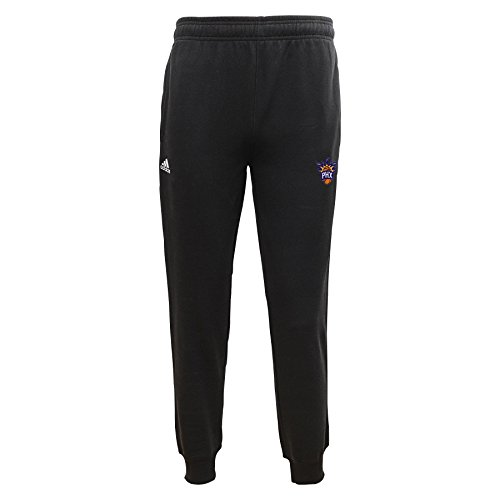 "NBA Phoenix Suns Youth Boys 8-20 Fleece Pant ""Slim Fit""- Blk/Navy, Black, Small (8)"