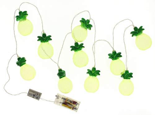 Lichterkette Ananas mit 10 Frucht-LEDs 165cm
