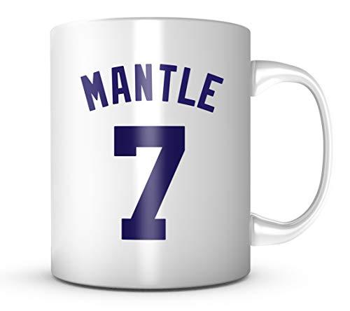 Mickey Mantle Mug - New York Baseball Legend 11 oz Coffee Cup