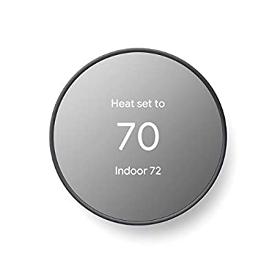 Google Nest Thermostat - Smart Thermostat for Home - Programmable Wifi Thermostat