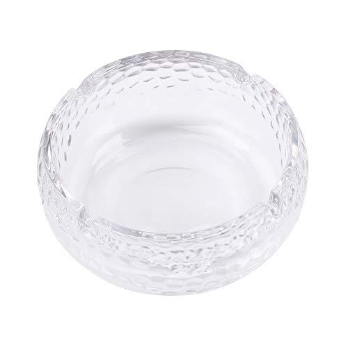Wimaha Aschenbecher Zigaretten Taschenascher Durchsichtig Aschenbecher aus Kristallglas
