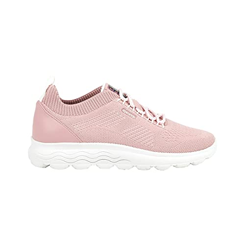 Geox D SPHERICA, Zapatillas Mujer, Pink, 41 EU