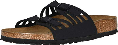 Birkenstock Granada Sandal,Black Birkibuc,40 N EU