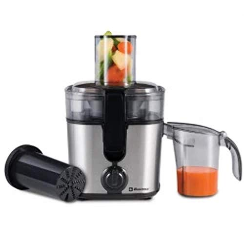 Koblenz JEKM-500 IN - Extractor de zumo de cocina (2 velocidades), color negro, Una tall