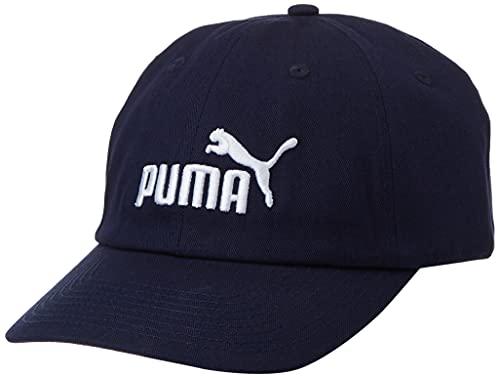 PUMA Gorra ESS 52919 Unisex, Unisex Adulto, Gorra, 52919 18, Peacoat-n.º 1, Talla única