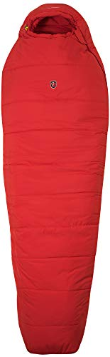 Fjallraven Unisex-Adult Skule Three Seasons Long Sleeping Bag, Red, OneSize