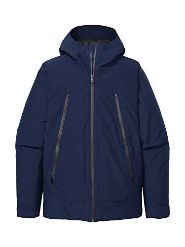 Marmot Solaris Jacket Chubasquero rígido, Chaqueta, Prueba de Viento, Impermeable, Transpirable, Hombre, Arctic Navy, L