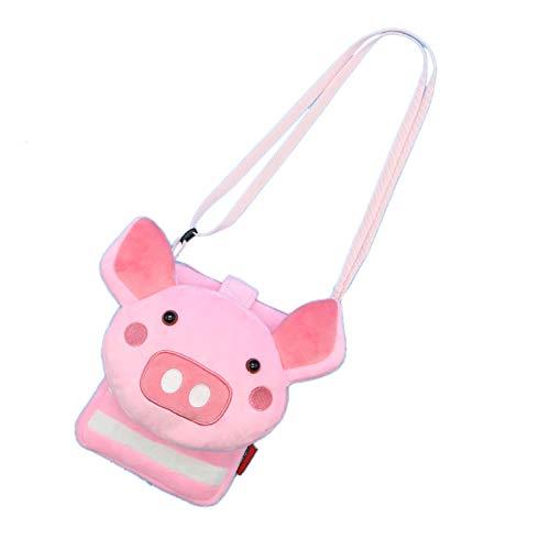 ZumZup Mini Umhängetasche für Kind Geldbörse Schlüsselbeutel Kindertasche Schultertasche als Geschenk Cartoon-Schwein