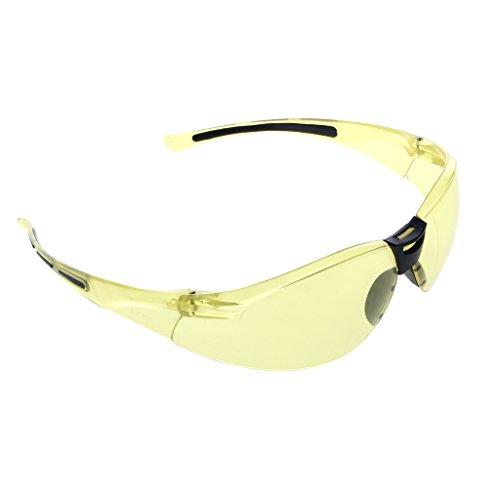 Gafas de seguridad amarillas anti-UV