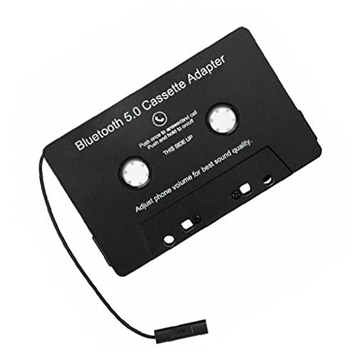 TOPofly Accesorios Cinta Adaptador inalámbrico Bluetooth Car Audio Cassette Adaptador de Coche MP3 de Audio Digital convertidor analógico para Regalo Negro de Coches