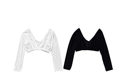 Great Houseware Women's Arm Sleeve Shapewear 3/4 Length Mesh Arm Sleeves,...