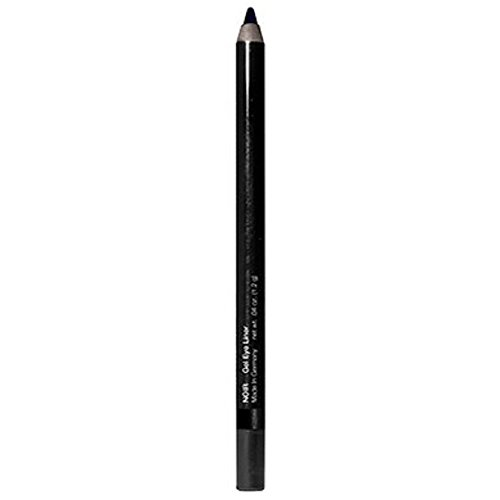 Superwear Gel Eye Liner Pencil - Smudge Proof and Long Lasting Intense Pigmented Matte Color - Easy to apply on waterline (Nior)