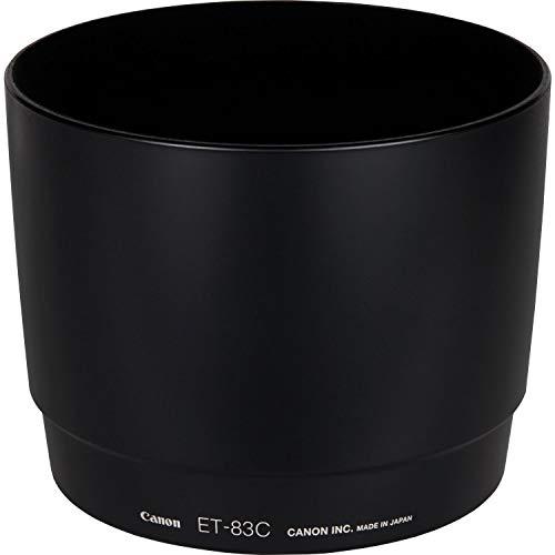 Canon ET-83C - Parasol para Objetivos Canon EF 100-400mm f/4.5-5.6L IS, Negro