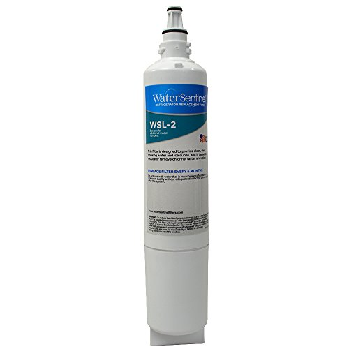 WaterSentinel WSL-2  Refrigerator Replacement Filter: Fits LG LT600P Filters