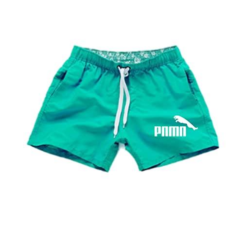 ShSnnwrl Pantaloncini da Uomo Pantaloncini da Spiaggia Uomo e Donna Quick Dry per Corsa Pantaloncini Uomo Fitness Pantaloncini Sportivi Allenamento Maschile Pa