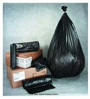 DTC2431K IBS 24x31 1.4mil Black 10-15 gal Draw Tape Liner 8/25, 200 per case