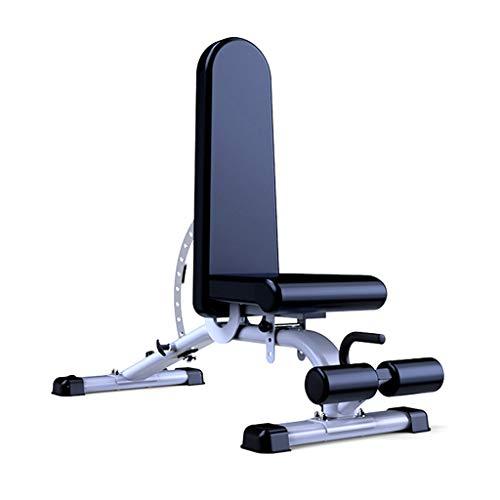 ZZZR Einstellbare Utility-Bank-11-Positionen Neigen Abnehmen Sitzen Hantelbank für Bauchmuskelübungen, 660 lbs Gewichtskapazität Nenn-Trainingsbank für Ganzkörper