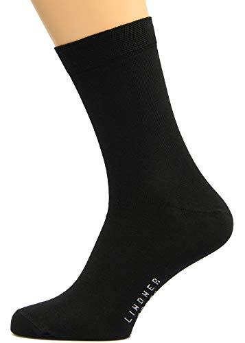 Max Lindner Socken Schwarze Socken Größe 42, 43, 44-5erPack