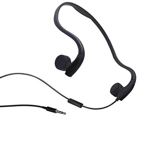 Auriculares Bluetooth para correr, Auriculares de conducción ósea, Bluetooth TWS Gancho para la oreja Impermeable Estéreo deportivo Estéreo empresarial Auriculares manos libres inalámbricos para con