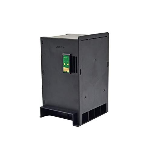 Printer Parts - Depósito de tinta de residuos compatible con T6711 caja de mantenimiento con chip para impresoras EPSON WF3620 WF3640 WF7110 compatible con T6711 T6711XL