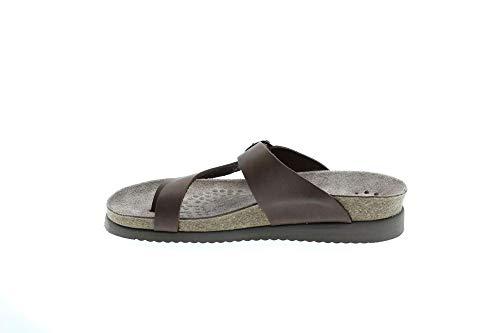 Mephisto Womens Helen Brown Leather Sandals 38 EU