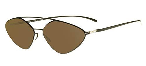 Mykita Gafas de Sol MAISON MARGIELA MMESSE023 E Camou Green Raw/Brown Solid 21/21/0 unisex