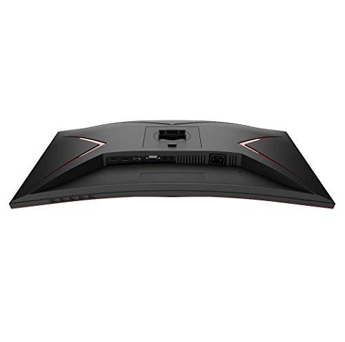 AOC Gaming CQ27G2U – 27 Zoll QHD Curved Monitor, 144 Hz, 1ms, FreeSync Premium (2560×1440, HDMI, DisplayPort, USB Hub) schwarz/rot - 2