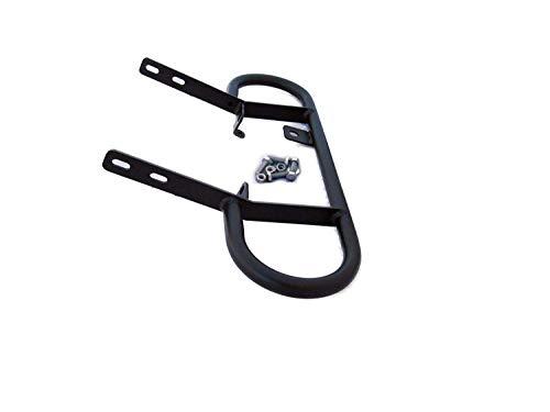Rear Grab Bar Bumper-Suzuki LTR 450 Powder Coated Black 2006-2009