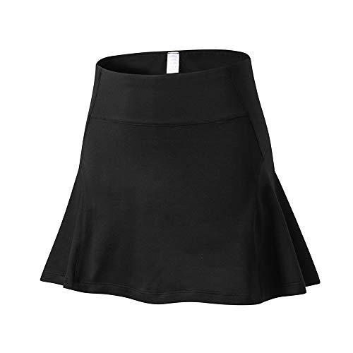 Bonn Short Skirt Women Super Soft Short Skirt Womens Yoga Running Mini Skirt Ladies Fitness Training Mini Skirt Solid Color Mini Skirt Athletic Workout Skirt New Mini Skirt Tummy Control Jogging XXL