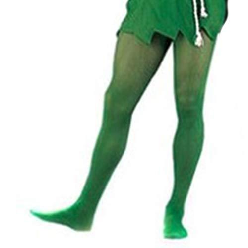 rongweiwang Cartoon Cos Halloween Grün Erwachsene Kinder-Kostüm-Zusatz Grüne Socken Cos Halloween Kostüm Elfen Socken Strumpf Netherstock