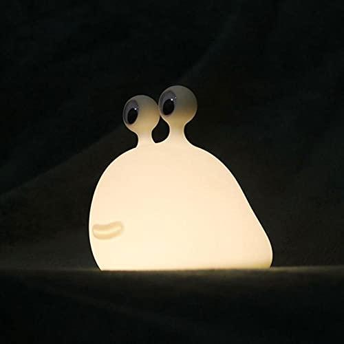 Luz de noche suave suave de la noche con control táctil USB recargable escritorio bebé niños lámpara de silicona Lámpara de silicona dormitorio