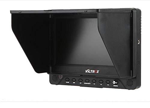 VILTROX DC-70EX 7 Zoll 4K HD 1024 x 600 HDMI/SDI/AV Eingang Ausgang Kamera Video LCD Monitor Display für DSLR, mit Blitzschuh-Adapter