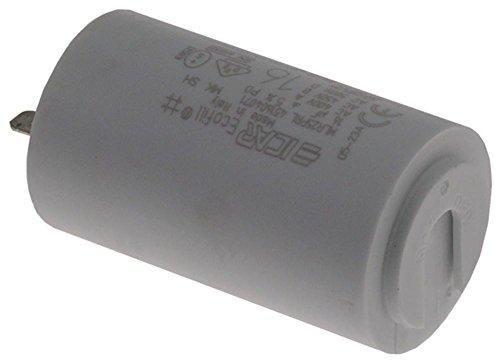 Anfim Betriebskondensator MLR25PRL für Kaffeemühle Super-Lusso, Caimano-Special450-Timer mit Kunststoffmantel 16µF 400/450/500V