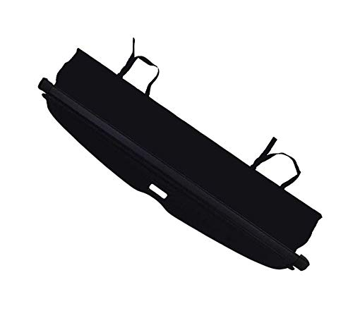 CARORMOKE Retractable Cargo Cover Luggage Cover Privacy Shade Trunk Cover Security Shield Black Compatible with 2010-2020 Toyota 4Runner (Upgrade Version : including a small flap)