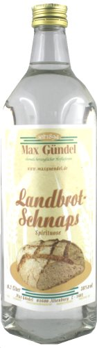 Landbrot-Schnaps 0,7l - 38% Alkohol - Max Gündel Altenburg