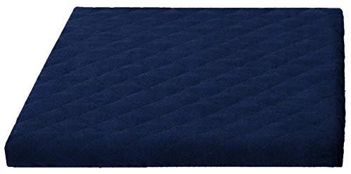 Trockner und Waschmaschinenschonbezug in versch. Farbe, Größe: ca.60 x 60 x 5 cm von Brandsseller (blau)