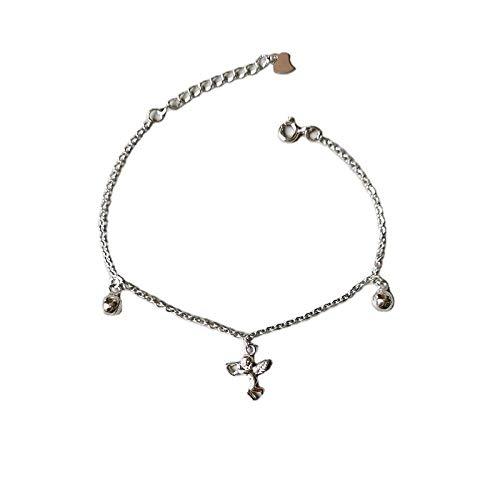 S925 Sterling Silber Gott Der Liebe Puppe Glocke Armband Weiblich Einfach