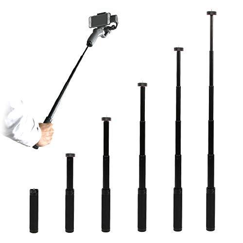 Rantow - Palo Selfie Aluminio cámara Fotos 6 segmentos
