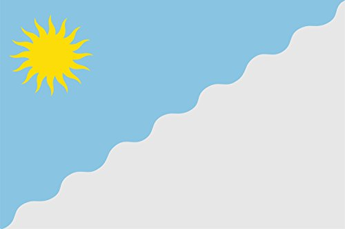 magFlags Bandera Large Municipio de Roquetas de Mar versión