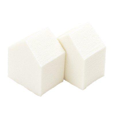 かづきれいこ スポンジ (16個入り×3袋セット) 【大容量】メイクやマッサージに使いやすい五角形スポンジ
