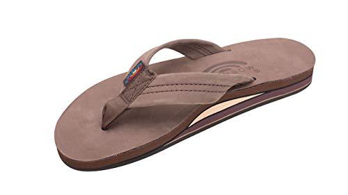 Double Layer Premier Leather Women's Sandal (Expresso) Size 7.5/8.5 (L) - 7.5/8.5 (L)
