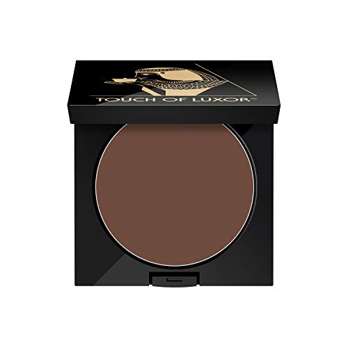 Cutifem Touch of Luxor Augenbrauenpuder & Lidstrichpuder No. 1 Soft Brown - Intensives Braun - 2,8 g